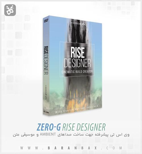 دانلود وی اس تی ساخت موسیقی متن Zero-G Rise Designer