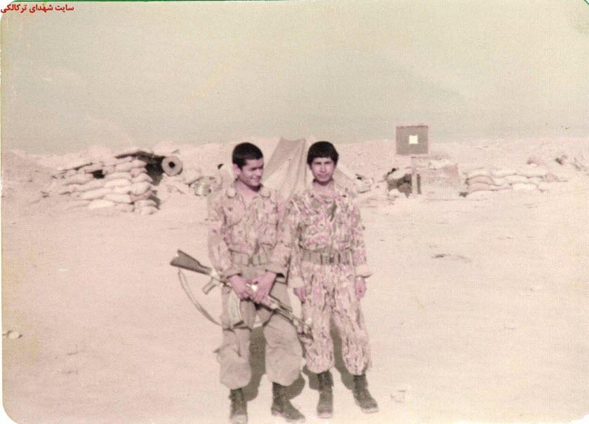 4  عکس از شهدا و سلحشوران شهر ترکالکی 54