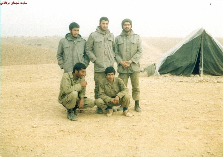 17  عکس از شهدا و سلحشوران شهر ترکالکی 54
