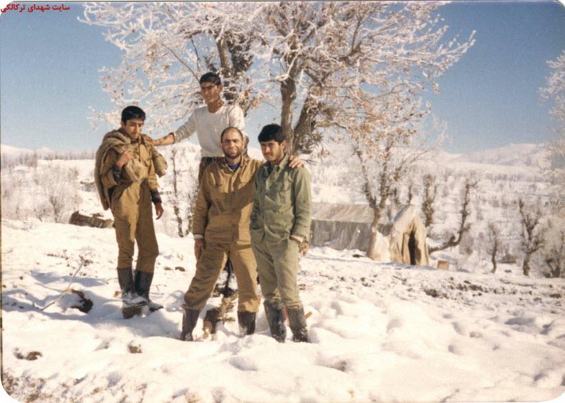 23  عکس از شهدا و سلحشوران شهر ترکالکی 54