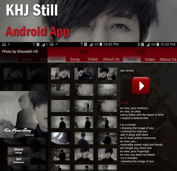 KHJ Still Android App By Ghazaleh HD