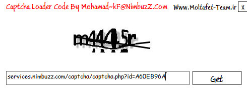 Captcha Loader Coded By Mohamad~kf@n.c [Moltafet Team] Cplod