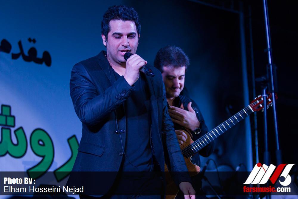 سری دوم عکسهای کنسرت گرگان حمید عسکری