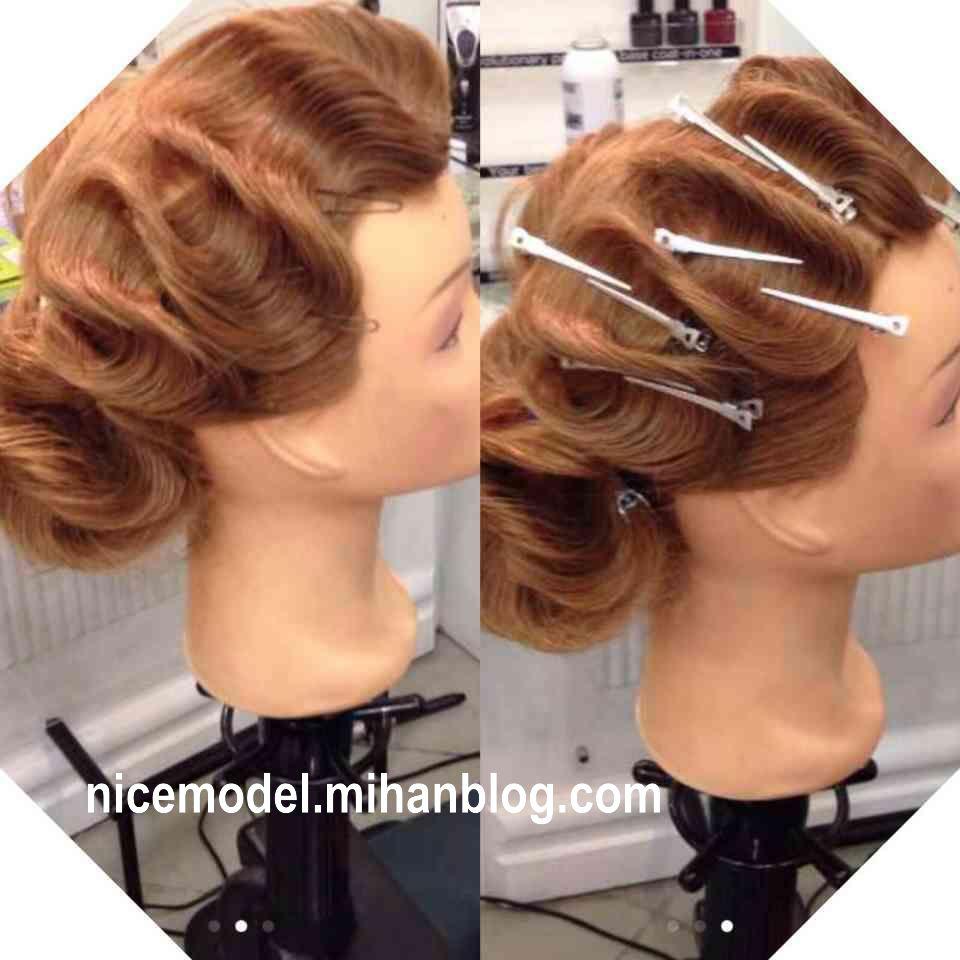 بیست مدل شینیون موی بوکله با کیفیت بالا