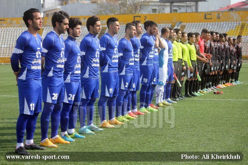 گزارش تصویری بازی داماش گیلان - فولاد یزد