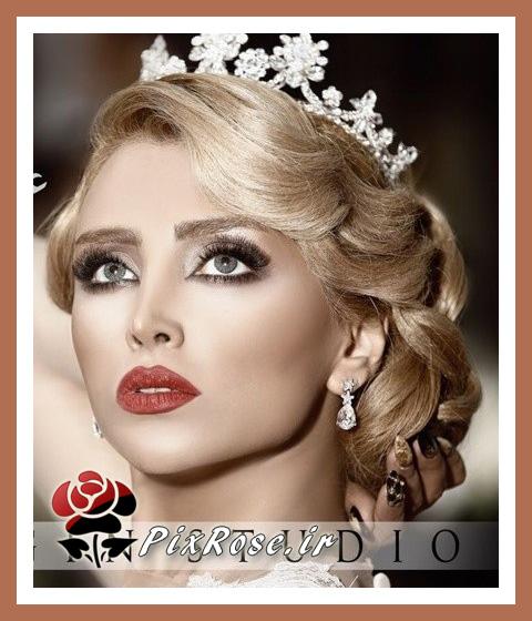 , زیباترین عروس ها , ژست عکس عروس ایرانی , فیگور تکی عروس , مدل مو عروس , شنیون مو عروس  , زیباترین مدلهای مو عروس ایرانی , شنیون زیبای عروس ایرانی , لباس عروس ایرانی  , ارایش عروس در سال  , آرایش صورت عروس , خوشکل ترین عروس های ایرانی , تاج عروس , تل خوشکل عروس , آرایش ,آرایش زیبا ,ارایش صورت ,