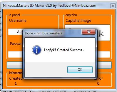 NimbuzzMasters Id Maker v1.0  Idmaker