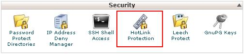 hot link protection Cpanel آموزش