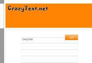 crazy text generator
