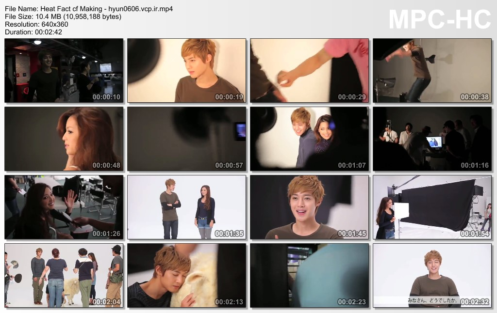 KHJ Heat Fact CF Making - He Is So Perfect And Adorable