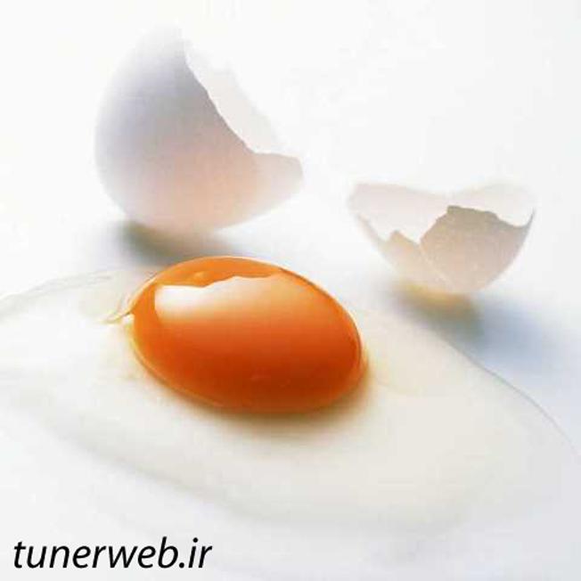 معجزه سفیده تخم مرغ در از بین بردن چروک صورت