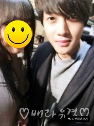Kim Hyun Joong at The Opening of The Store LuxBene in Busan. New Photo 14.12.22
