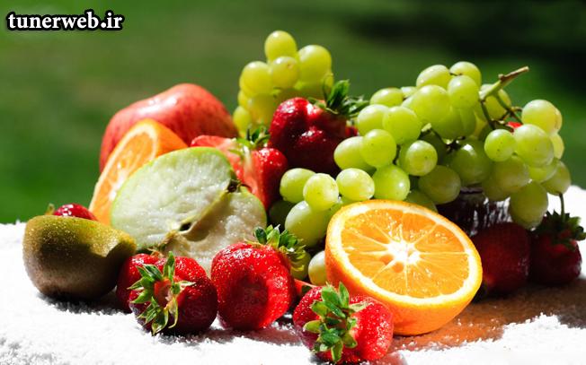 بهترین زمان میوه خوردن