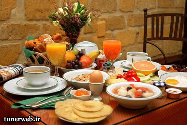 فواید صرف صبحانه