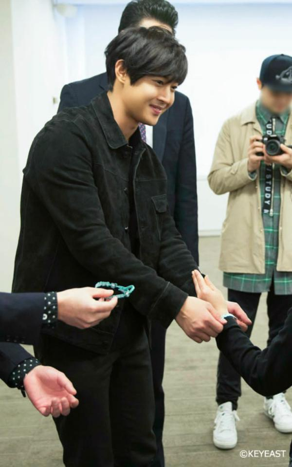 Kim Hyun Joong - Update Japanese Mobile Website 15.04.03