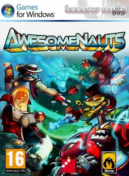 دانلود بازی کامپیوتر Awesomenauts