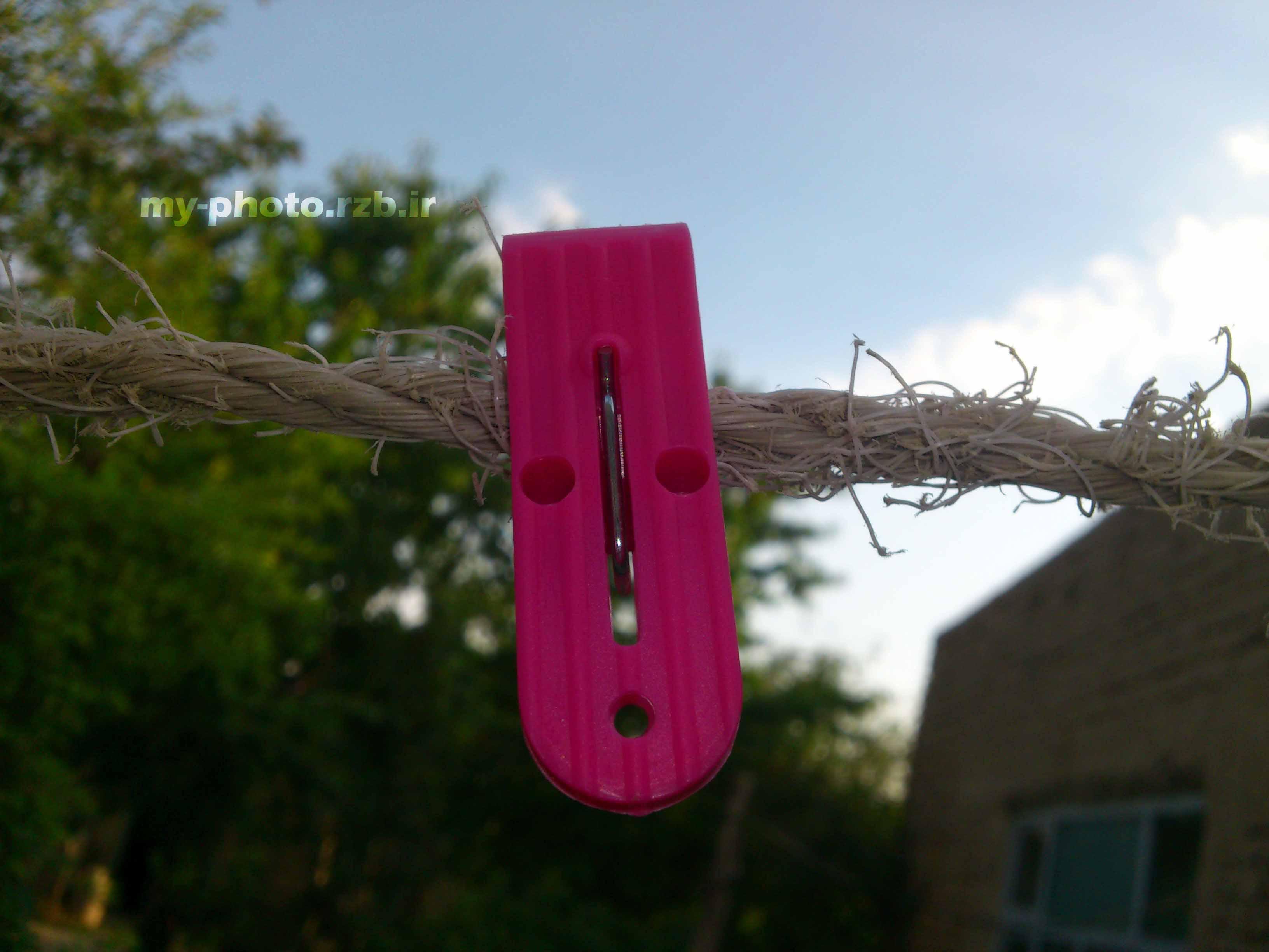 عکس 5:«گیره و طناب»