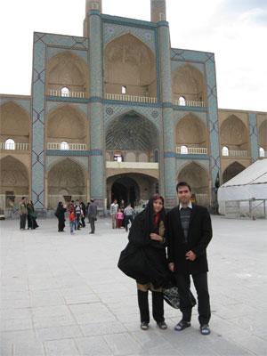 یاشار و شهناز ، عمارت امیر چخماق یزد ( نوروز 1394 )