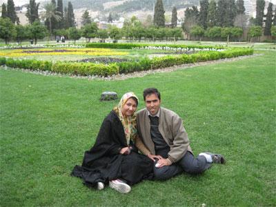 باغ جهان نمای شیراز ( نوروز 1394 )