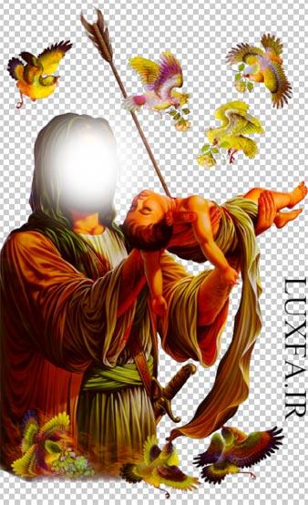 طرح آماده مذهبی حضرت علی اصغر ع