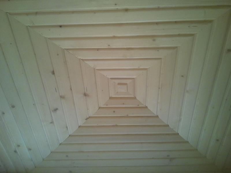 ساخت سونای خشک با چوب درجه یک روسی بدون گره