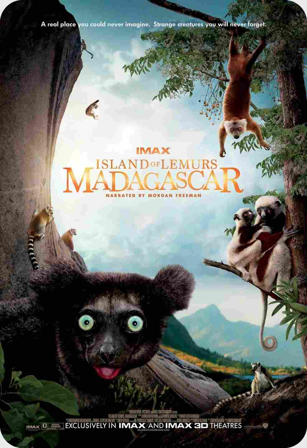 مستند کوتاه Island of Lemurs: Madagascar 2014