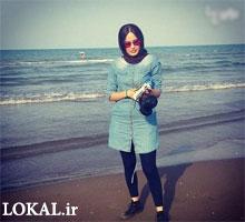 بازیگر زن سریال (گذر از رنج ها) با تیپ متفاوت کنار ساحل