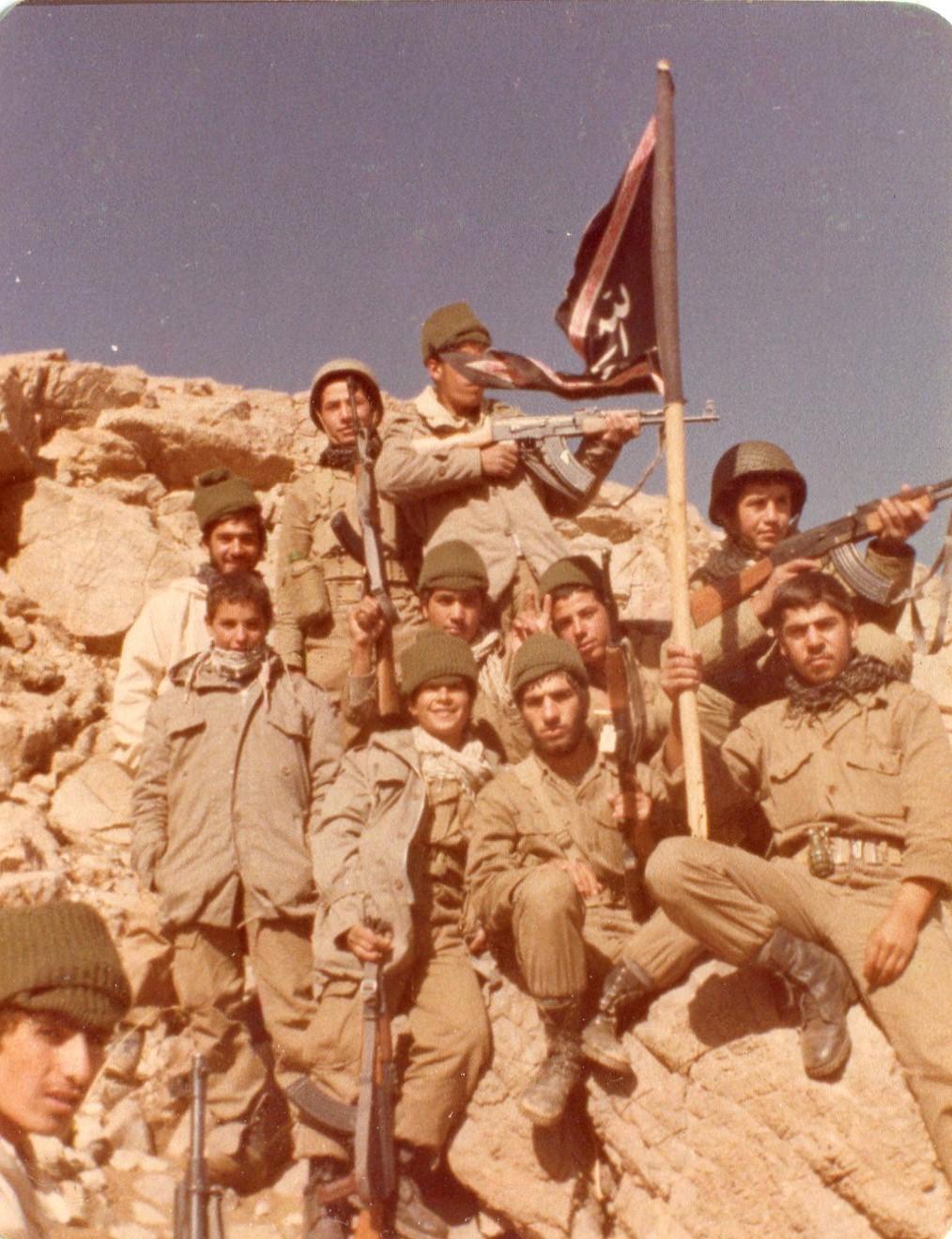 بسیجیان کوریجان در جبهه ها