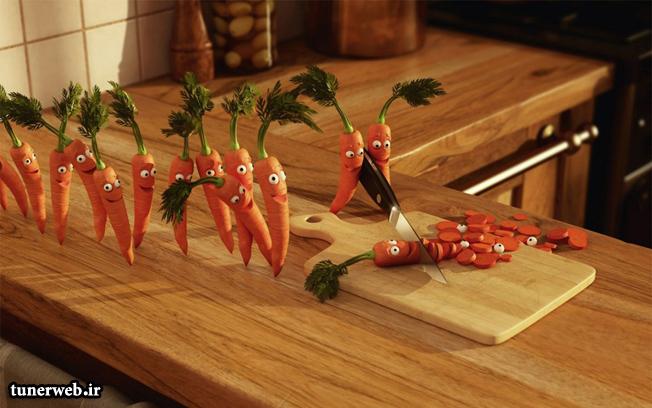 فواید مصرف هویج