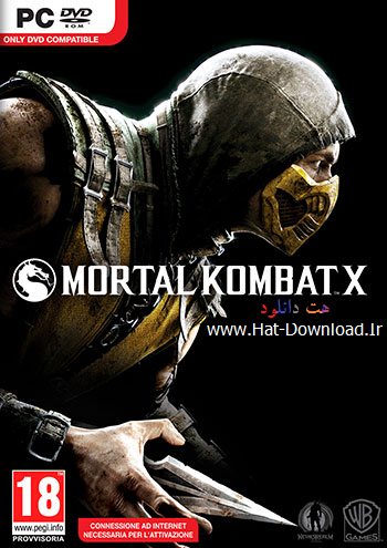 Mortal Kombat X pc cover small دانلود بازی Mortal Kombat X برای PC