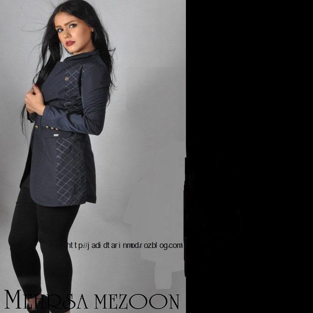 جدیدترین مدلهای مانتو اسپرت اندامی زنانه سال