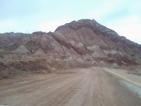 کوههای رسوبی و شن و ماسه ای