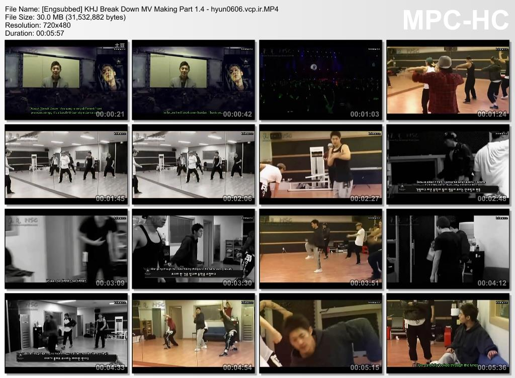 Engsubbed - KHJ Break Down Limited Edition Album MV Making