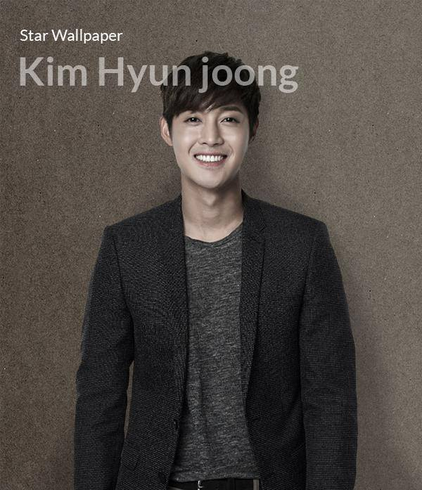 Kim Hyun Joong Star Wallpaper @ Lotte DF