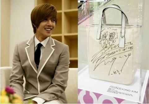 Hyun Joong Designed Coach Tote Bag