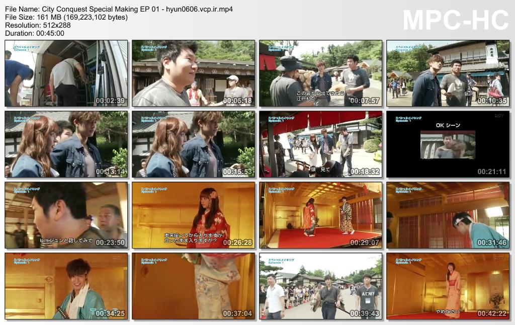 Kim Hyun Joong Сity Сonquest DATV Special Making EP 01
