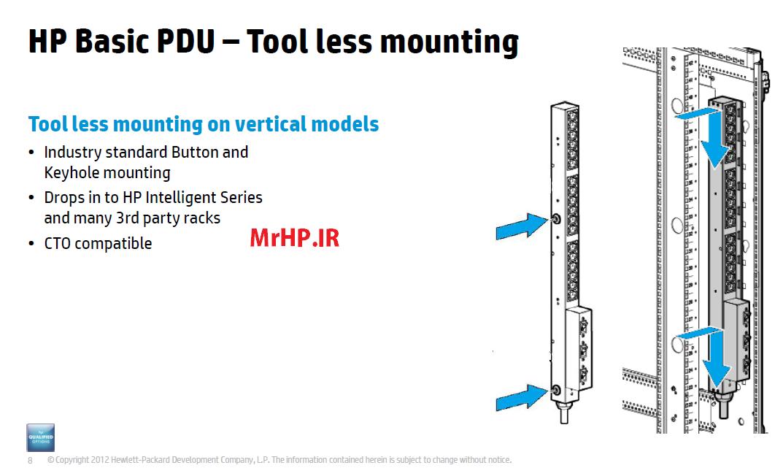 اموزش سرور های اچی پی -IPDU-رک اچ پی-سرور اچ پی-تعمیرات سرور