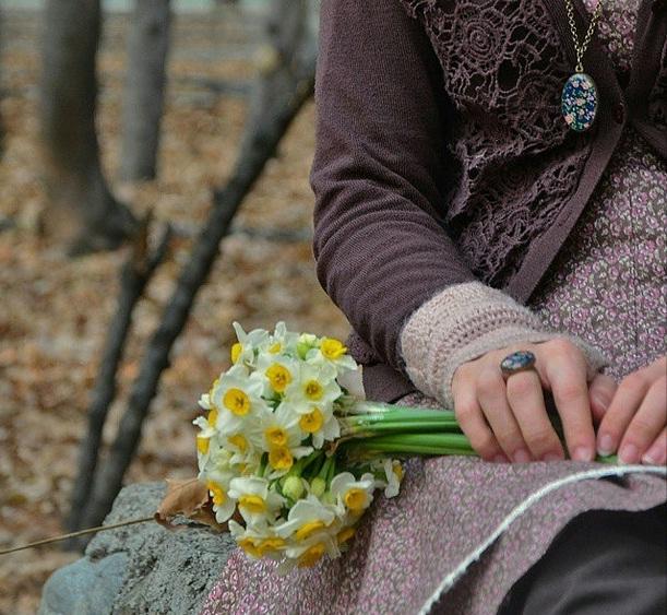 گل های نرگس و انتظار