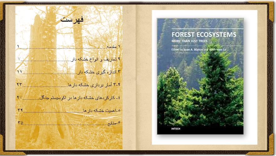 دانلود پاورپوینت خشکه دار ها در اکوسیستم جنگلی