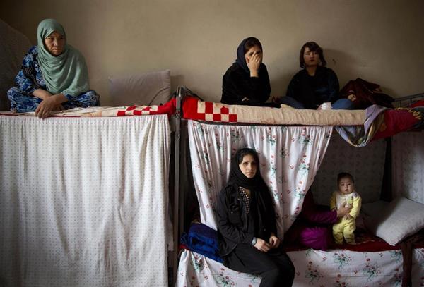 گزارش تصویری از زندان «جرایم اخلاقی» زنان در کابل