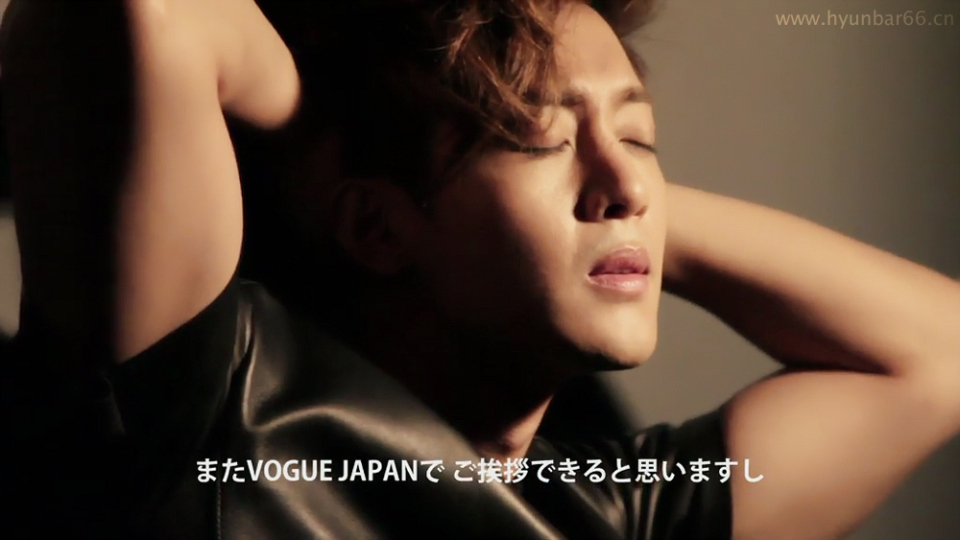 Kim Hyun Joong - Vogue Japan Screen Caps