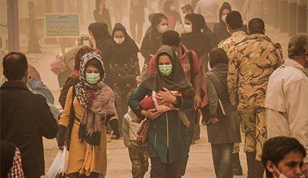 گرد و غبار خوزستان