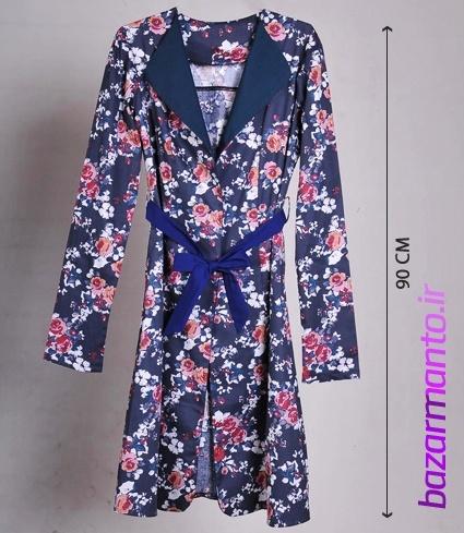 خرید مانتو تابستانه فشن زنانه دخترانه پارچه کتان کش