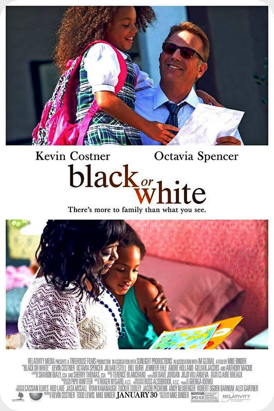 فیلم Black or White 2014