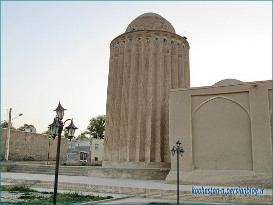 برج مسجد جامع بسطام، شاهرود