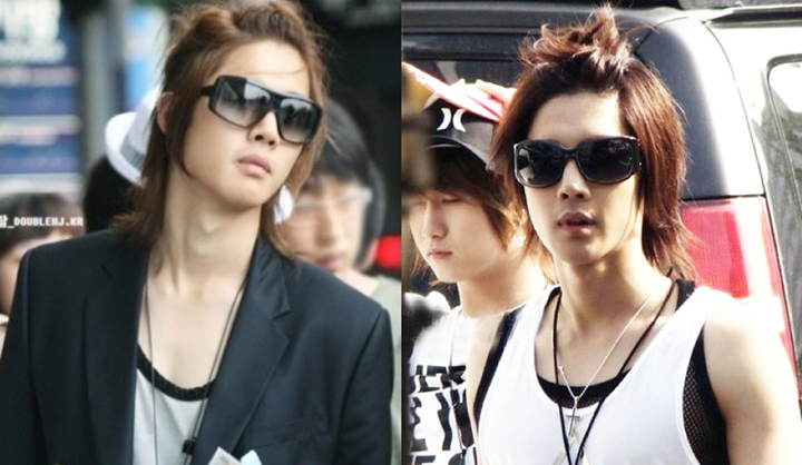 Long Hair Style of Hyun Joong
