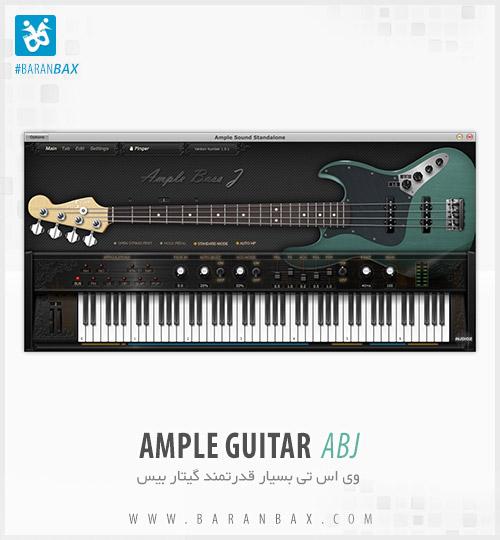دانلود وی اس تی گیتاربیس Ample Guitar ABJ 2