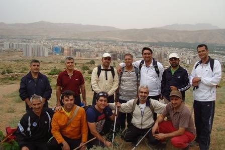 کوهپیمایی دراگ شیراز 14 اردی بهشت 94