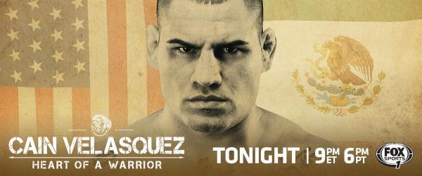 "دانلود مستند ""کین ولاسکوز ، قلب یک جنگجو"" Cain Velasquez Heart of a Warrior"