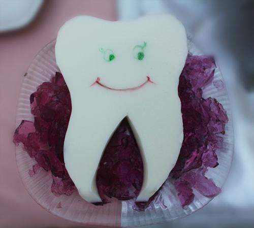 ژله بستنی با طرح دندان